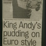 Andy's Pudding Euro on Style - Real Lancashire Black Pudding
