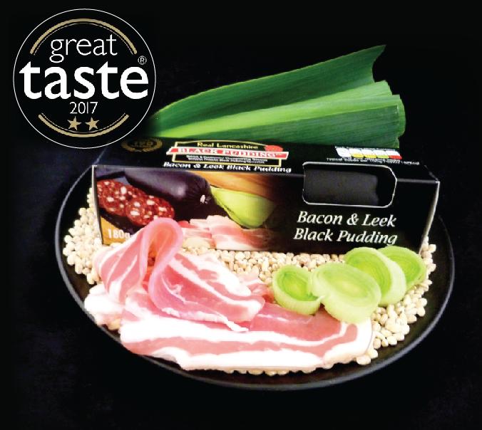 Bacon and Leek Great Taste 2017