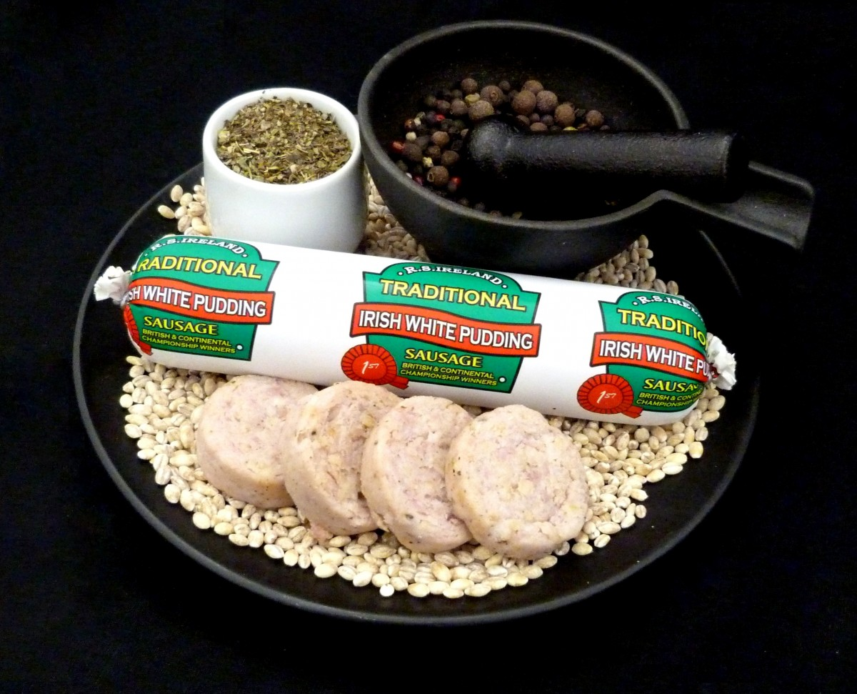 Traditional Irish White Pudding